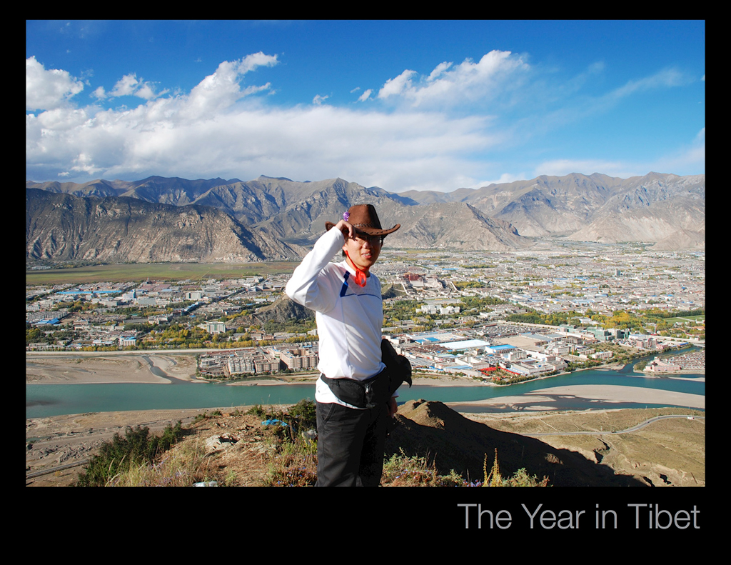 Overlooking Lhasa